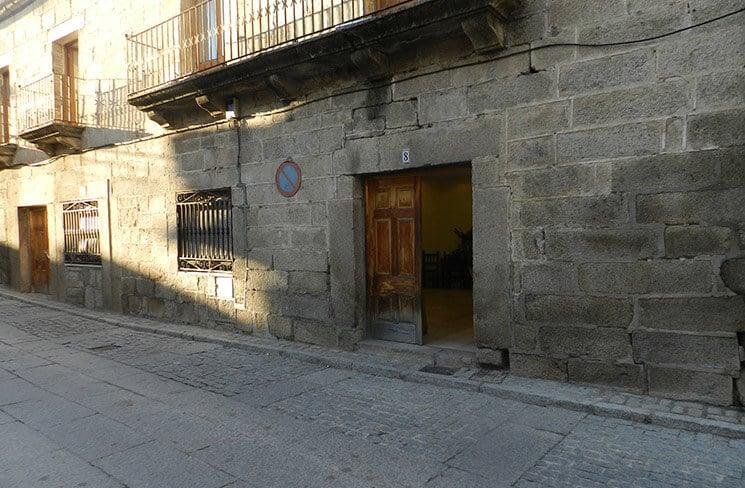 Velatorio de Pedro Bernardo